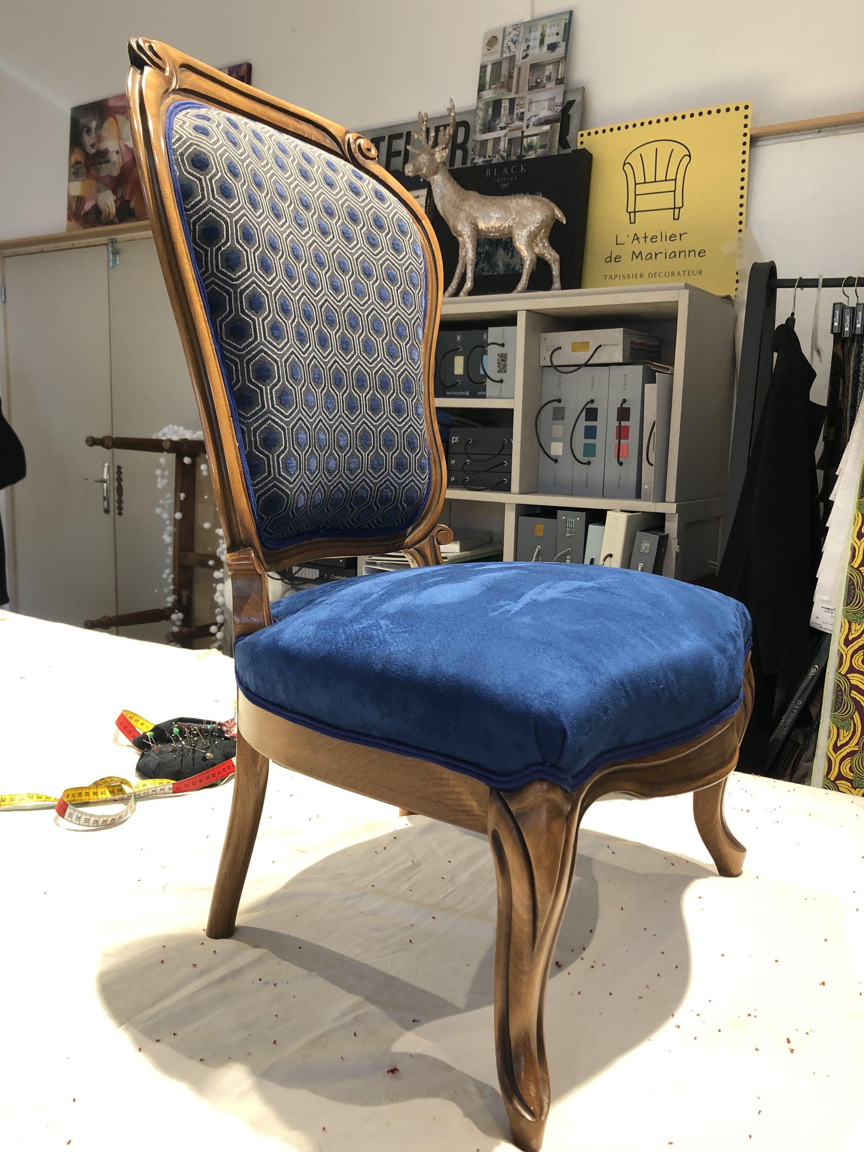refection chaise à Lorient